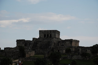 Tulum Ruins Before the Hurricane