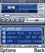 Winamp MP3 Player for N-Gage