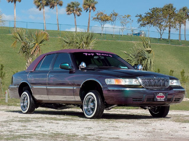 where lowriders meet 1998 mercury grand marquis. Black Bedroom Furniture Sets. Home Design Ideas