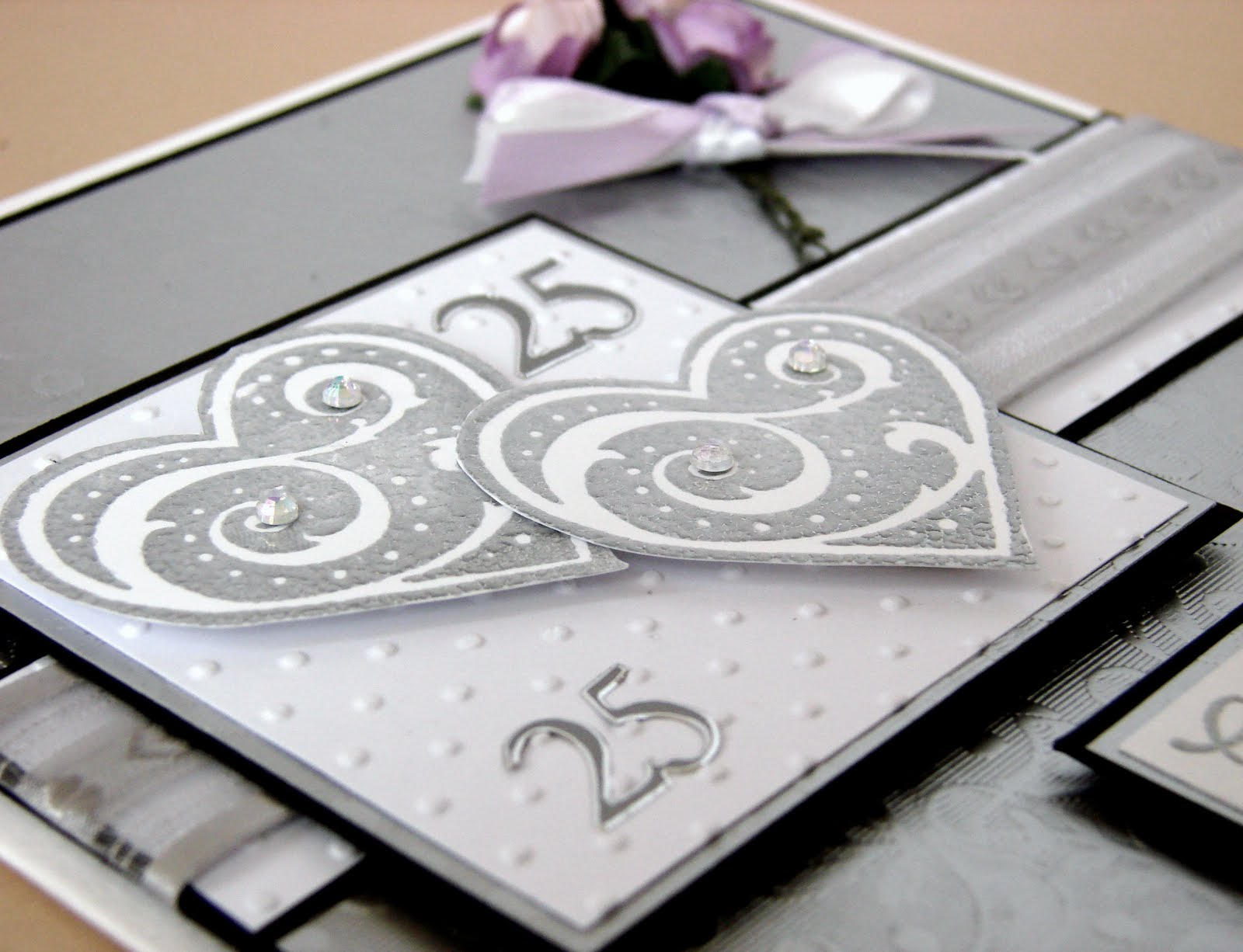 Silver Wedding Anniversary Gifts For Parents: ON THE CARDS: Silver Wedding Anniversary Card