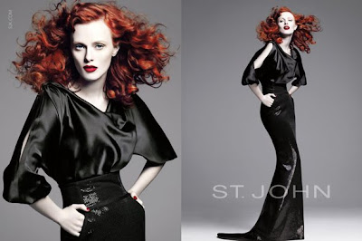 Elson wearing  St John for Spring it Girl Campaign