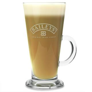 Bailey's Latte Glass