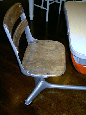 vintage desk swivel seat
