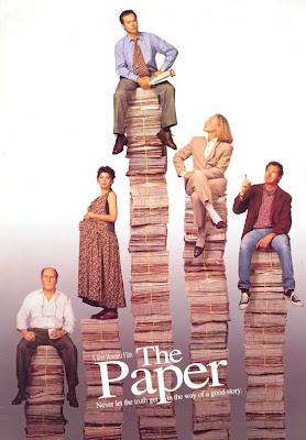The paper (Detrás de la notícia), Michael Keaton, Ron Howard, Marisa Tomei