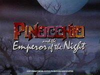 Pinocho y el emperador de la noche, Filmation