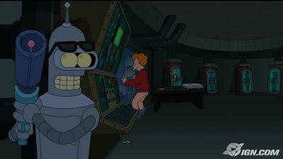 futurama, El gran golpe de Bender