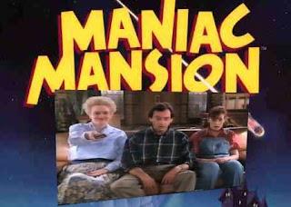 maniac mansion, vecinos chiflados