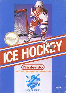 nintendo, nes, ice hockey