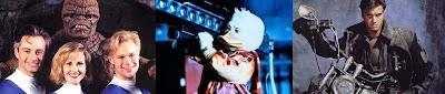 los 4 fantasticos Corman, Howard el pato, The punisher