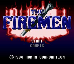 the firemen, supernintendo, super nintendo, supernes, human, 16 bits