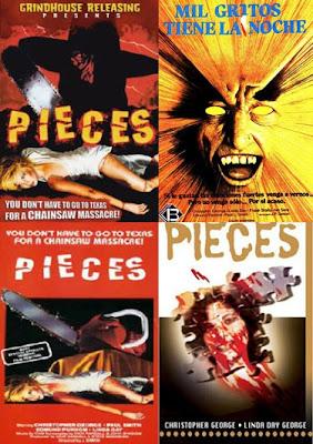 Mil gritos tiene la noche, Pieces, Juan Piquer Simon, Pieces, J. P. Simon