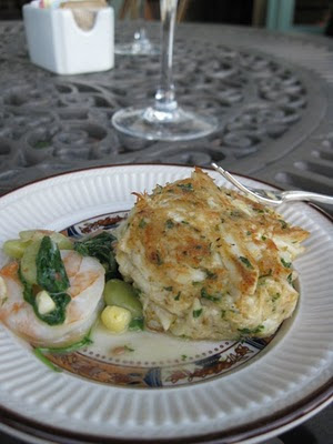 Fatback And Foie Gras Crab Cakes Chesapeake Bay Style