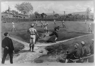 Baseball The Game, Credit Line: Library of Congress, Prints & Photographs Division, [reproduction number, LC-USZC4-2776]