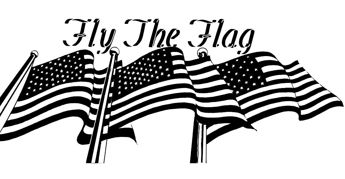 Flag Day Celebrated Clip Art