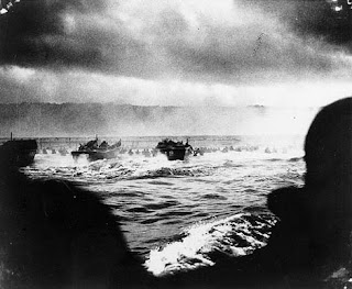 D-Day: Landing Convoy, Photo Courtesy of U.S. Army