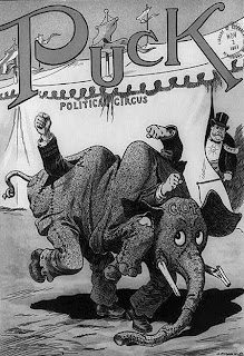 Political Party Symbols Republican Elephant Credit Line: Library of Congress, Prints & Photographs Division, [reproduction number, LC-USZ62-89636]
