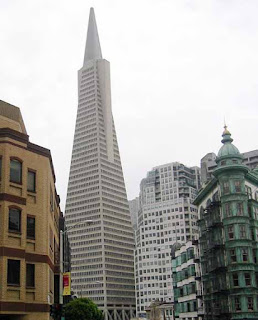 Transamerica Pyramid, Exterior view of 600 Montgomery St. (photo by Dan Radulescu) U.S. Geological Survey