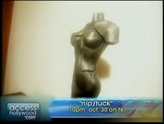 Access Hollywood Nip/Tuck Season 5 Set Stills