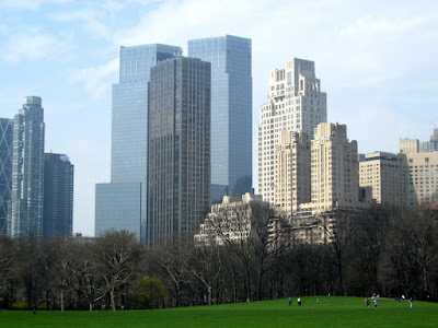 Central Park New York City Skyline