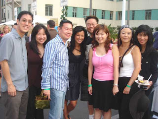 Kelly Hu [center in black] and LAFun.org friends at Extravaganza For The Senses 2008