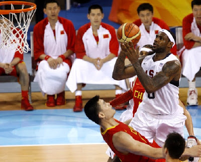 Olympic Basketball LeBron James