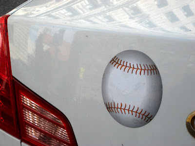 Baseball Bumper Sticker