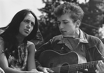 Joan Baez and Bob Dylan Civil Rights March on Washington, D.C.