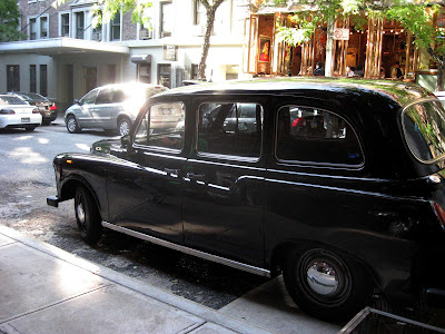 London black cab Taxi Austin FX4