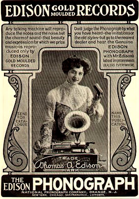 Edison Records 1903 advertisement