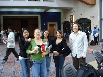 REU students at SICB
