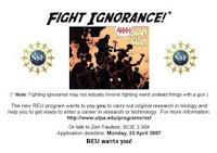 Fight ignorance!