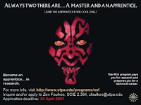 Darth Maul recruitment poster