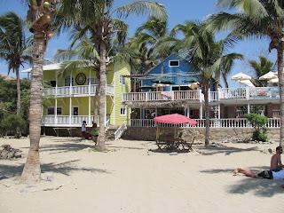 Beachside restaurants, Mancora