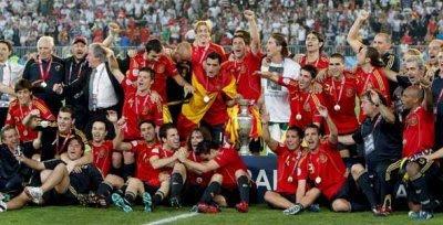 España, campeona de Europa 2008