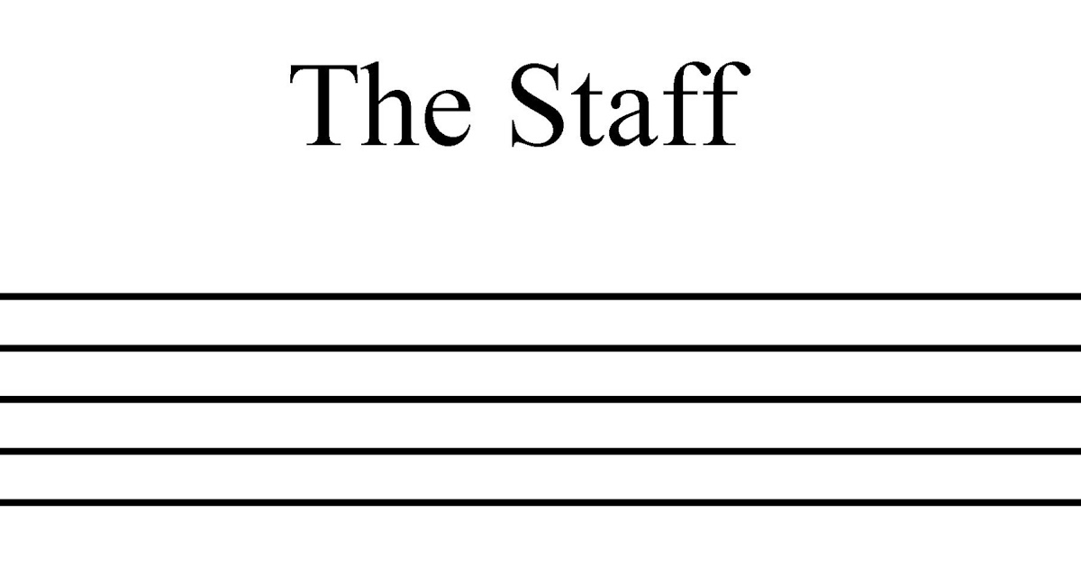 Music Theory: The Staff, Treble Clef And Bass Clef