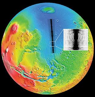 La superficie de Marte