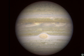 Planeta Júpiter desde Marte