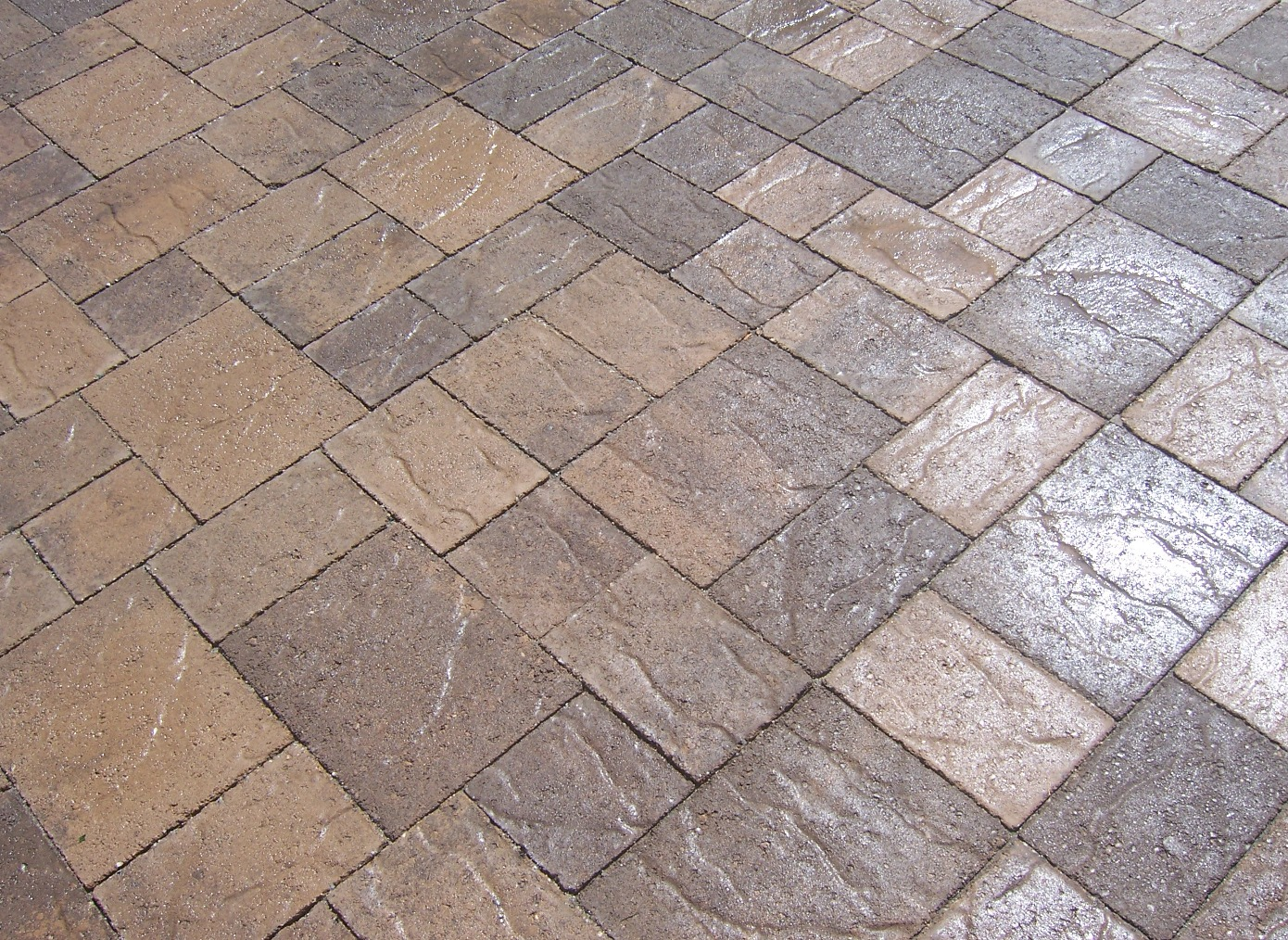 The 2 Minute Gardener: Photo - Stone Top Tumbled Pavers
