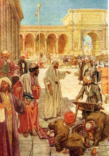 Jesús de Nazareth: 13-JESÚS EXPULSA LOS MERCADERES DEL TEMPLO
