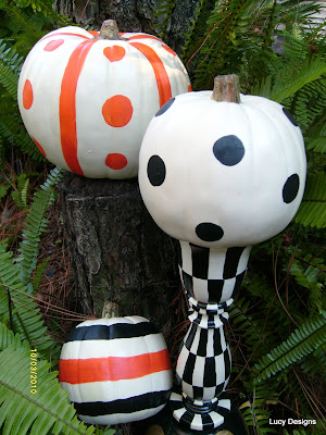hand painted pumkins