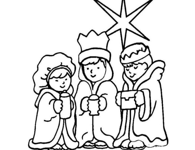 Dibujos Para Colorear De Los Tres Reyes Magos: El Rincon De La Infancia: ♥ Dibujos De Los Tres Reyes