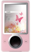 Zune 30 GB Digital Media Player (Pink)<br />