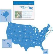 Garmin MapSource Topo U.S. 2008