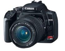 Canon Digital Rebel XTi 10.1MP Digital SLR Camera (Black Body Only)