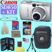 Canon PowerShot SD850 IS Digital Elph Camera
