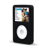Belkin Silicone Sleeve Case for 80 GB iPod classic 6G (Black)
