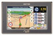 Mio C520 4.3-Inch Widescreen Bluetooth Portable GPS Navigator