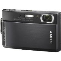 Sony Cybershot DSCT300/B 10.1MP Digital Camera with 5x Optical Zoom with Super Steady Shot (Black)