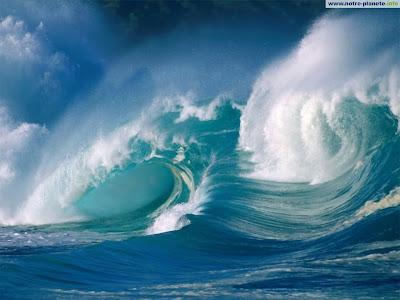 Vagues - Paysages Oceans et littoraux