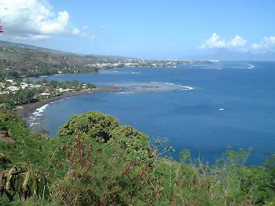 Panorama du Taharaa Tahiti